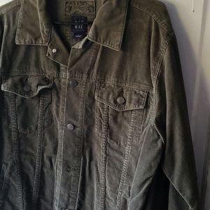 Gap Men's Corduroy Grn Jacket